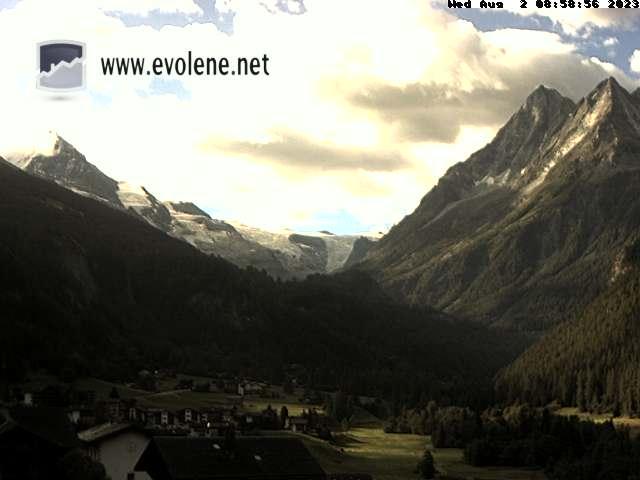 Webcam not available for Evolene